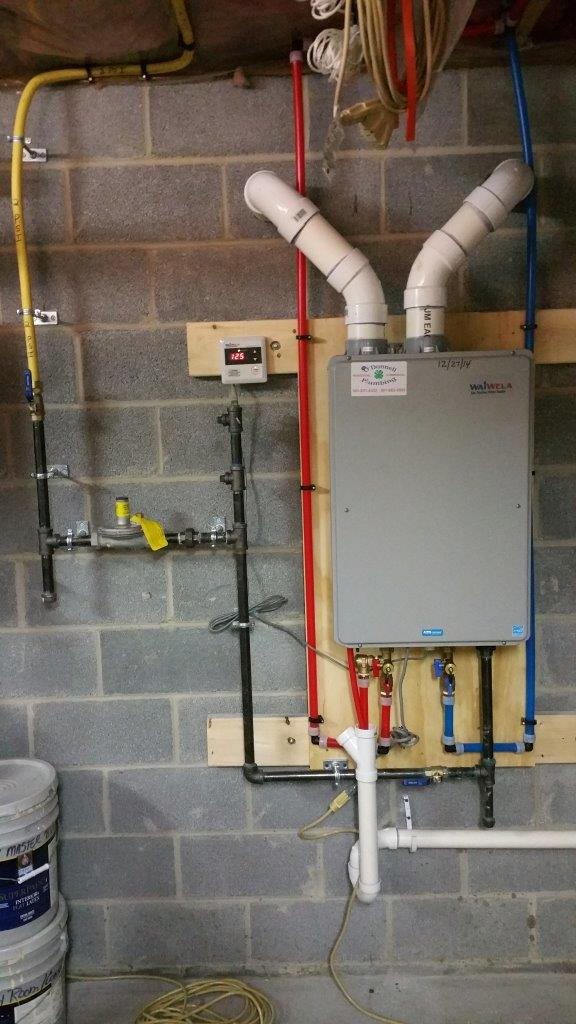 New Waiwela tankless installed