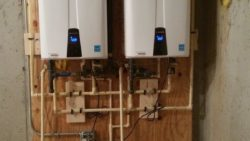 2-new Navien tankless heaters