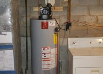 50 gallon, natural gas power vent water heater installation